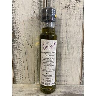 Kaltgepresstes Ölivenöl - Knoblauch-