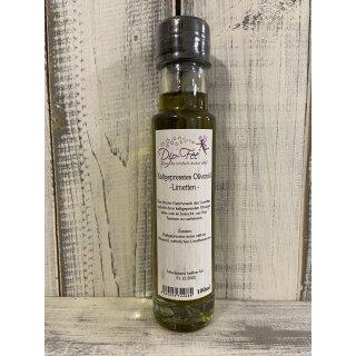 Kaltgepresstes Olivenöl - Limetten