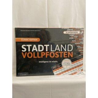 Stadt Land Vollpfosten - Classic Edition-