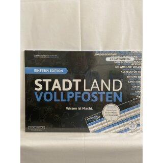 Stadt Land Vollpfosten - Einstein Edition-