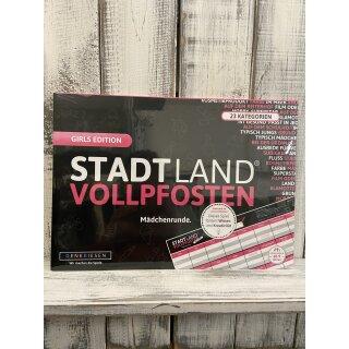 Stadt Land Vollpfosten - Girls Edition-