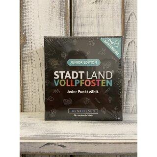 Stadt Land Vollpfosten - Das Kartenspiel Juior Edition-
